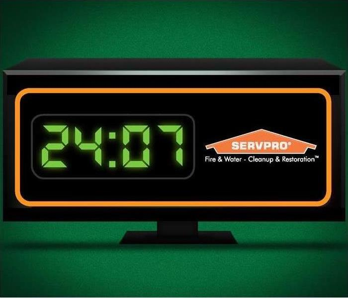"Why SERVPRO Our Priority Responders are ""Here To Help"" 24/7!"