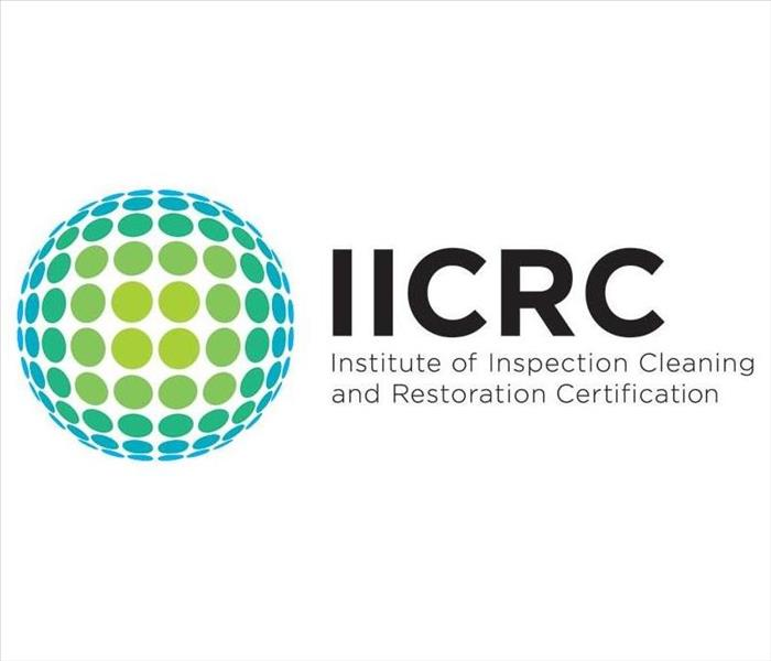 Why SERVPRO IICRC Certified Service Provider