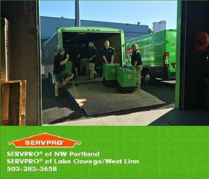 Storm Damage When Storms or Floods hit Clackamas County, SERVPRO of Lake Oswego/ West Linn is ready!